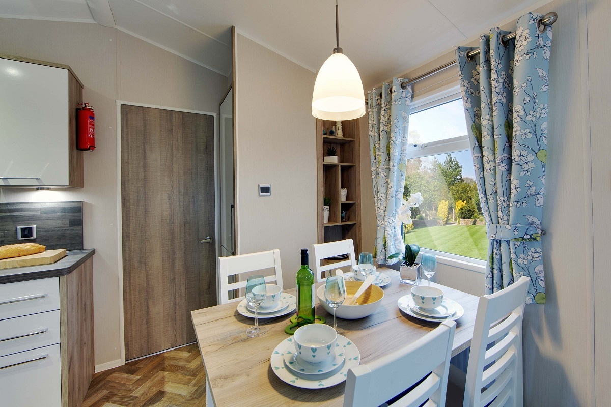 Willerby Canterbury 3 bedrooms ideal caravans Clifton Morpeth Northumberland Image 2