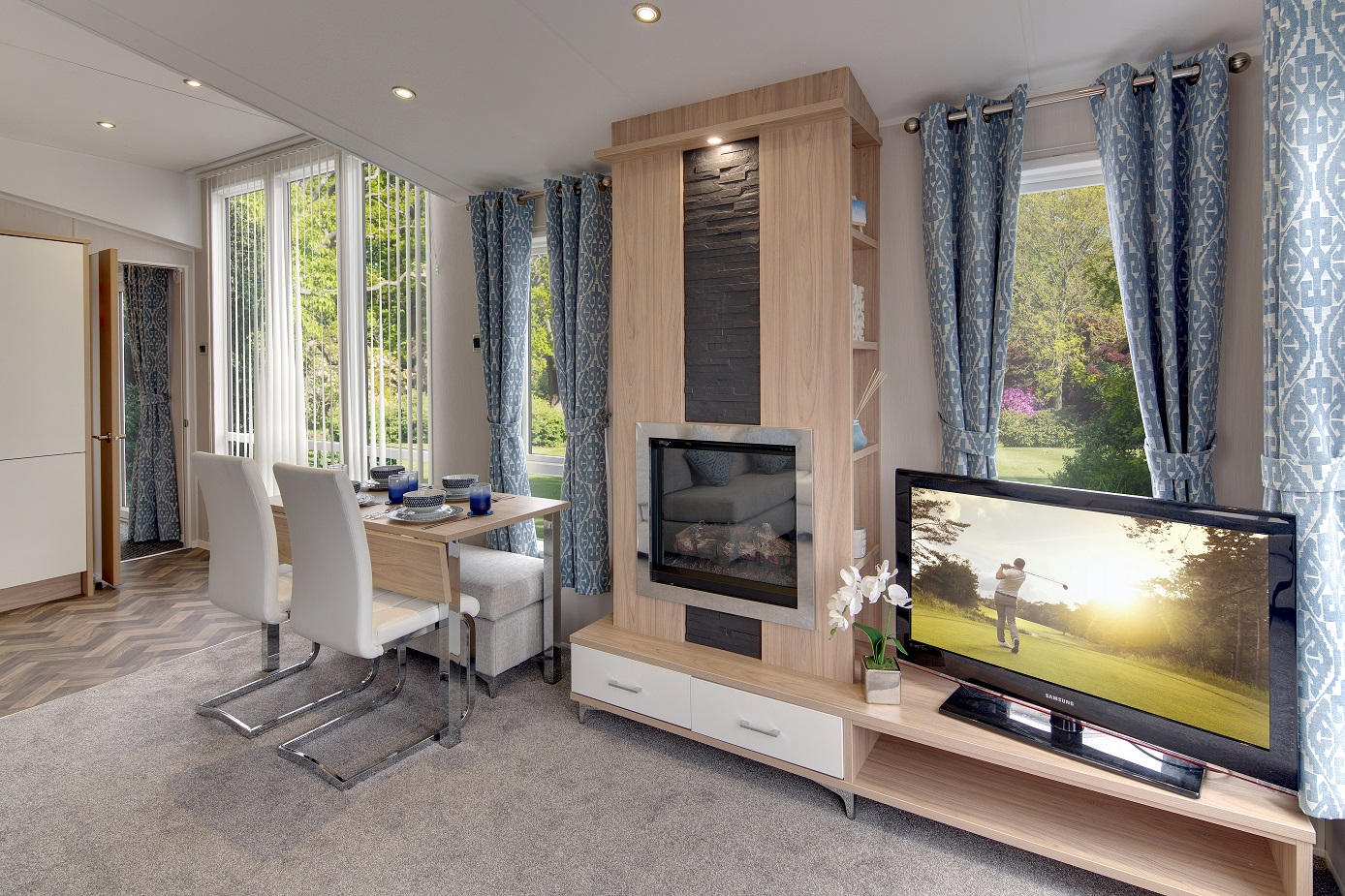 Willerby Linear available at ideal caravans Lodge specification Image 1