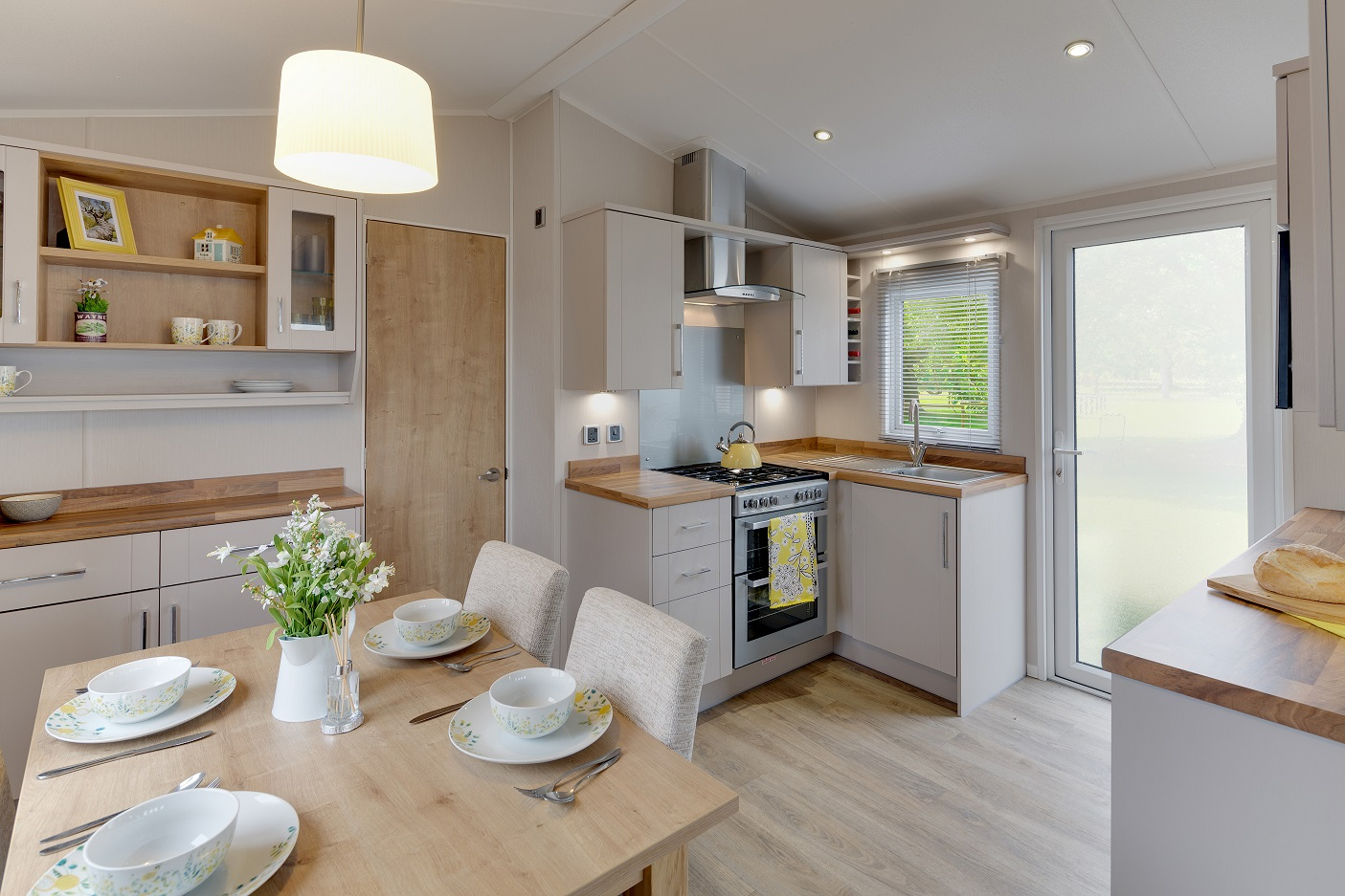 Willerby Winchester: Static Caravans and Holiday Homes for Sale on Caravan Parks, Nidderdale, North Yorkshire Image 1
