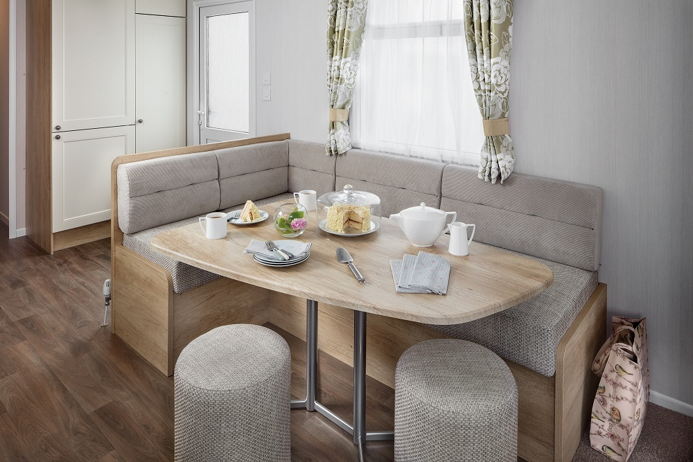 Swift Burgundy: New Static Caravans and Holiday Homes for Sale, Langley Moor, Durham Image 1
