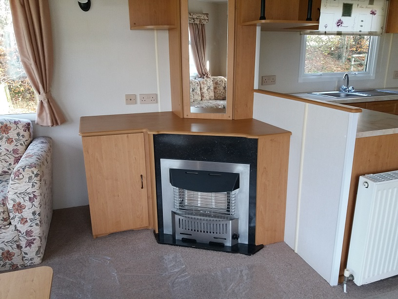 Cosalt Riviera Super 360/2: Static Caravans and Holiday Homes for Sale on Caravan Parks, Adderstone, Northumberland Image 1