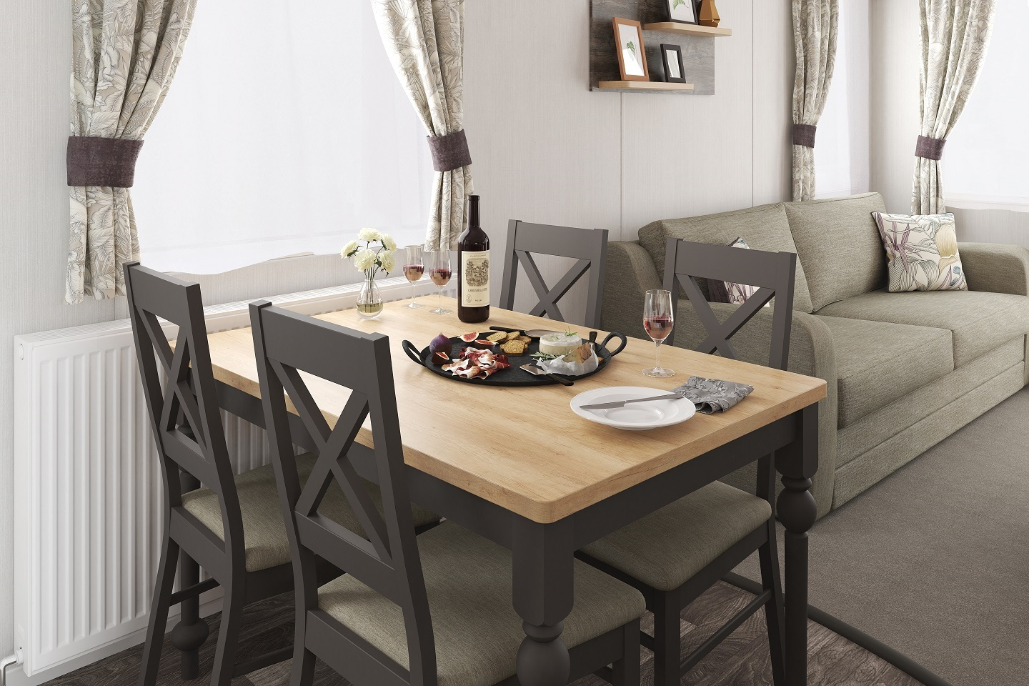 Swift Bordeaux: New Static Caravans and Holiday Homes for Sale, Langley Moor, Durham Image 1