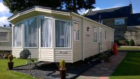 Lastest Private Premium Pitches  Coquetdale Caravan Park